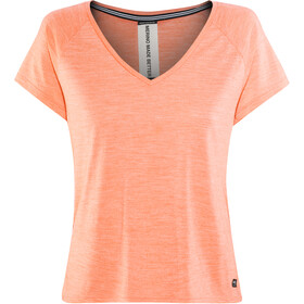 super.natural Jonser T-shirt Dam georgia peach melange